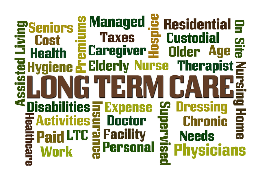 Word Cloud for Long Term Care