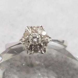 inel logodna aur diamante