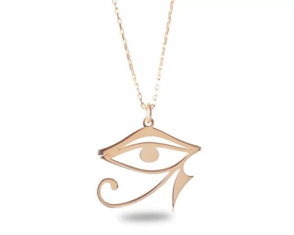 gold eye of horus