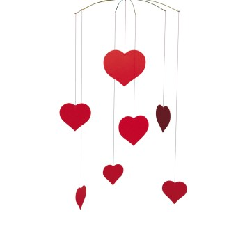 Flensted Mobiles Hearts