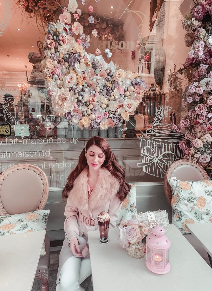 London's Most Feminine Cafe
