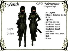 [GJCR] Fetish ~ Ms Dominator in Green