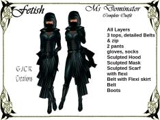 [GJCR] Fetish ~ Ms Dominator in Teal