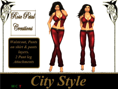 [RPC] Women ~ City Style ~ Red
