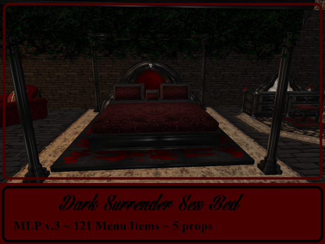 RPC Dark Surrender Sex Bed