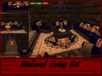 RPC Medieval Living Set