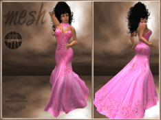 [RPC] MESH ~ Pink Evening Gown