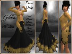 RPC Golden Diva ~ Black