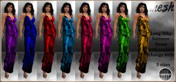 [RPC] Mesh ~ Flower Print Dress with HUD
