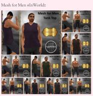 mesh for men