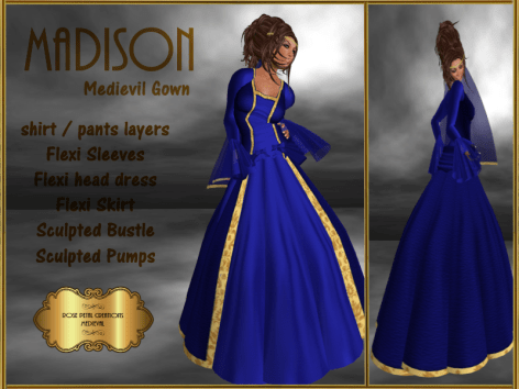 [RPC] Medievil ~ Madison ~ Blue