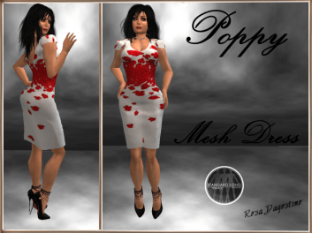 [RPC] MESH ~ Poppy Dress ~ Red
