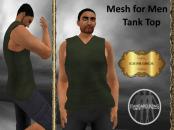 [RPC] Mesh for Men ~ Tank Top ~ Green