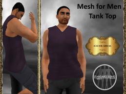 [RPC] Mesh for Men ~ Tank Top ~ Purple