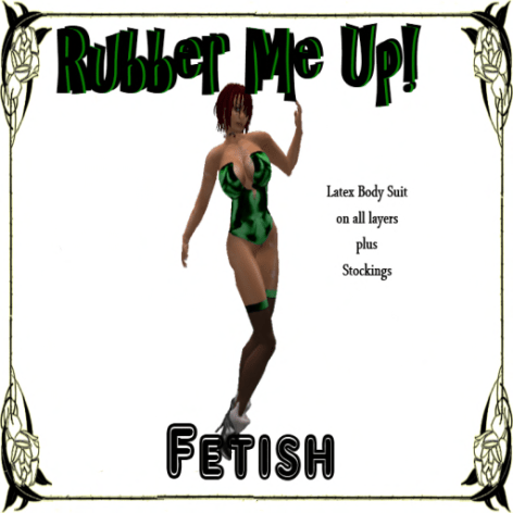 [RPC] Fetish ~ Rubber Me Up! Green