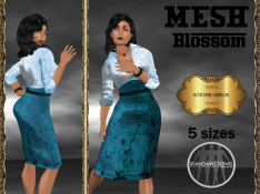 [RPC] MESH ~ Blossom in Cyan