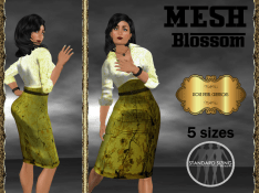 [RPC] MESH ~ Blossom in Gold