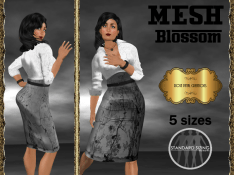 [RPC] MESH ~ Blossom in Silver