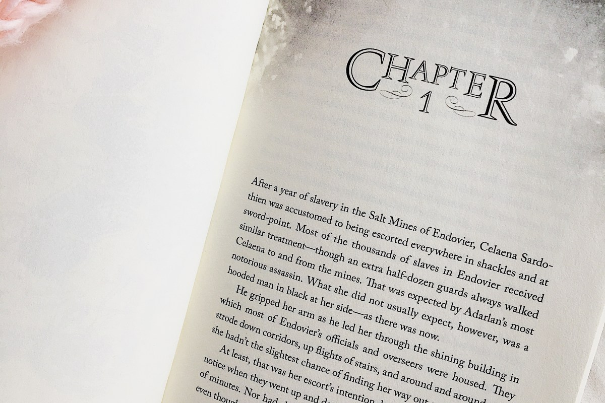 Throne of Glass chapter one
