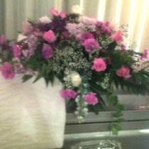Casket Spray Funeral Flowers