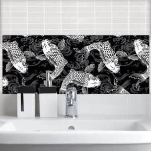 Image of Japonisme Feature wall tiles from forthefloorandmore.com