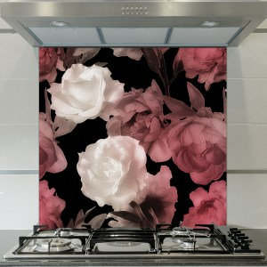 Image of a New floral splash back design exclusive to forthefloorandmore.com