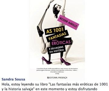 Foto | ALEGRÍA | La traducción de #1001fantasias está gustando en Portugal :))