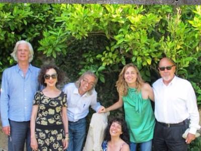 Precioso recuerdo de cuando @victoramela presentó a Bigas Luna, Jacobo Siruela e Inka Martí