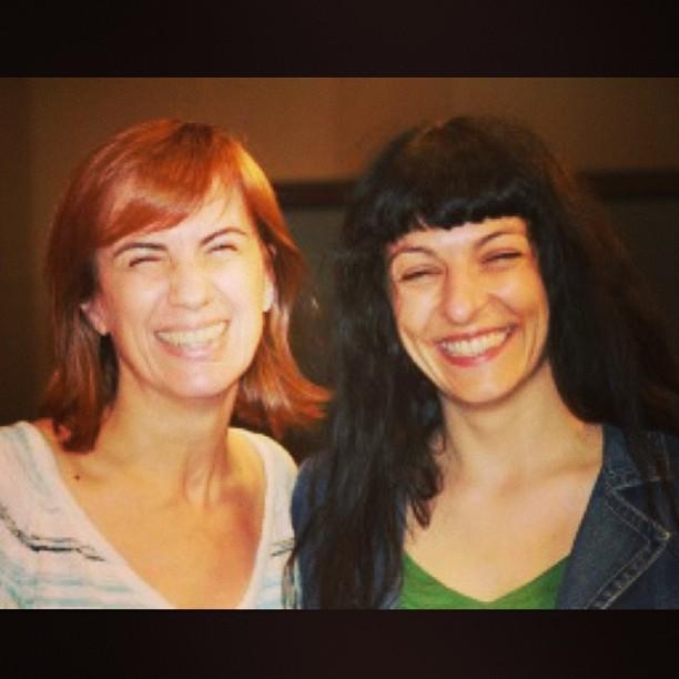 Con Gemma Nierga, la semana pasada en Cadena Ser