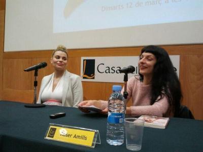 Foto | Para el recuerdo, juntas tras la presentación del nuevo libro de Maria Lapiedra ;))