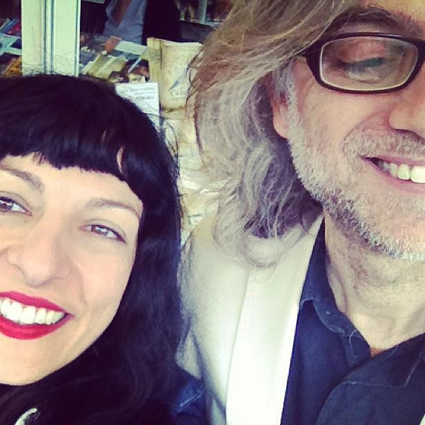 roser amills y victor amela en la feria del libro de madrid 2013