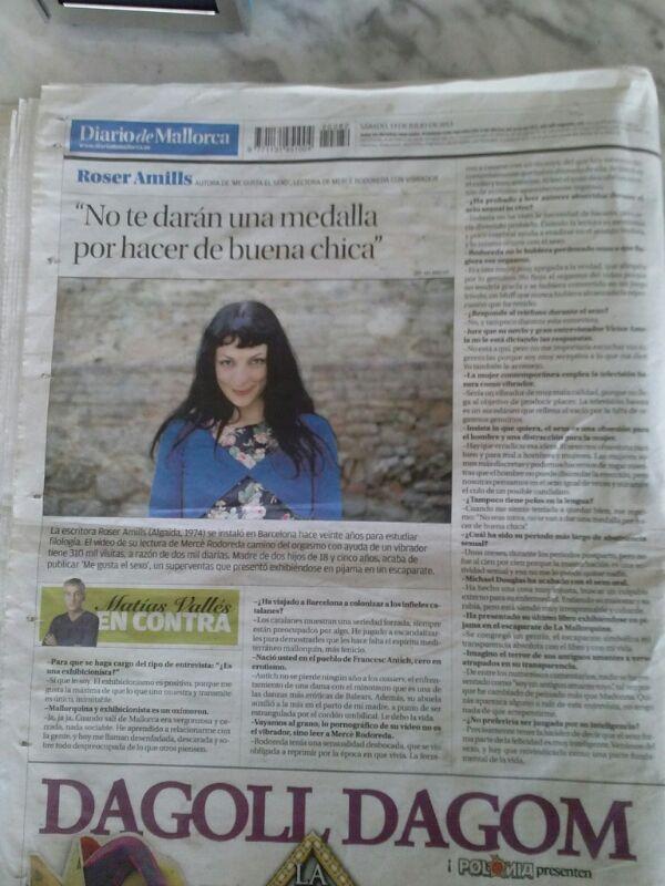 roser amills diario de mallorca entrevista