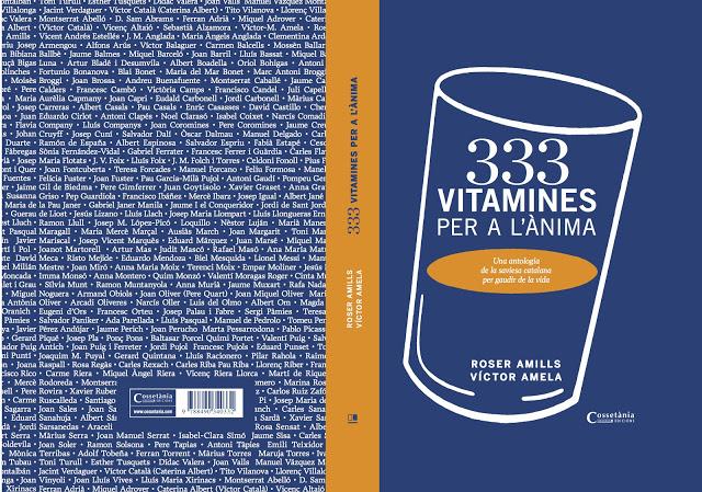 333 vitamines de roser amills i victor amela coberta desplegada