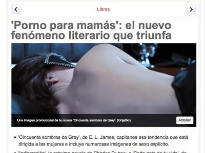 MÉXICO | Porno para mamás y 'Las 1.001 fantasías eróticas…' de Roser Amills