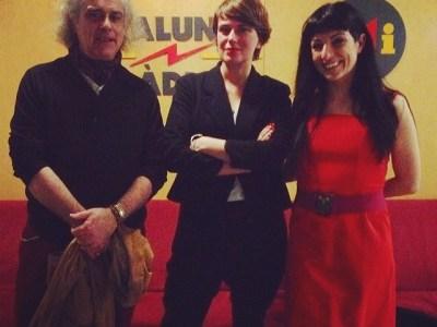 A #miliunanits amb l'experta Almudena Blasco i l'admirat i amic gran Stefano Cingolani