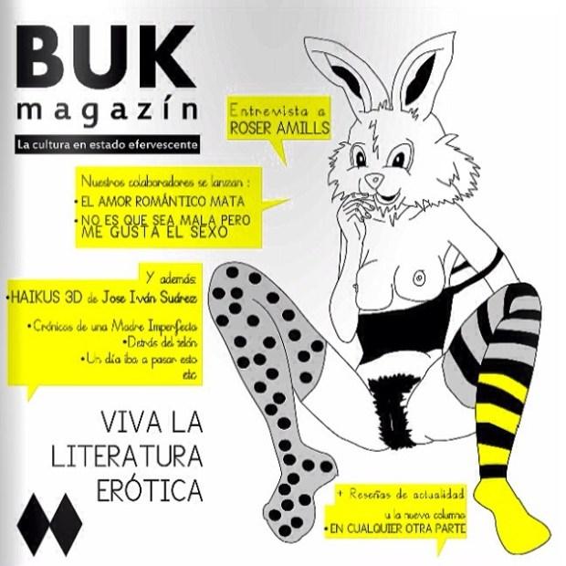 Entrevista a Roser Amills en Buk magazin