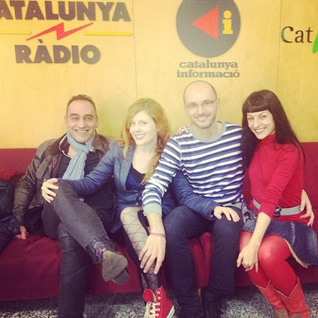 Roser Amills Catalunya Radio equipo