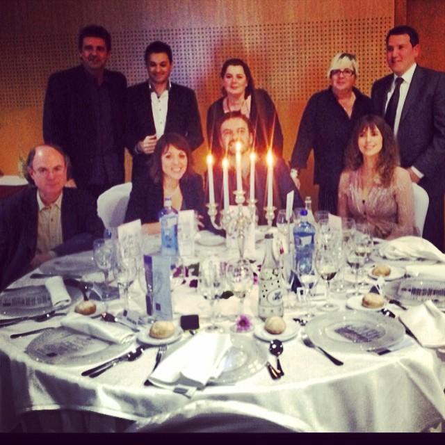 La mesa más alegre, con parte del equipo de Vespre a La 2: Quim Barnola, Xavi Díaz, Celeste Roig…