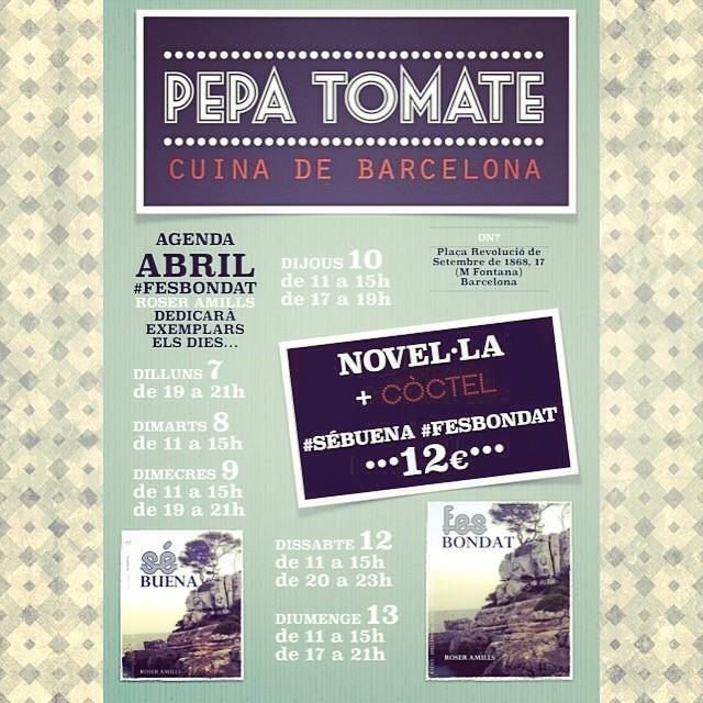 Del 7 al 13 tindreu #fesbondat #sébuena en mà + còctel!!!