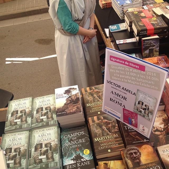Tenemos #fesbondat en la librería Saltamartí AHORA #Amorcontraroma en Badalona