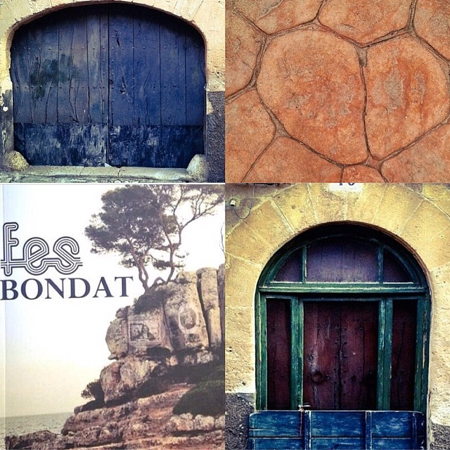 Bona part de sa novel.la #fesbondat passa a #algaida, d'on és sa protagonista, na #Vitàlia. Aquí hi teniu ca seva