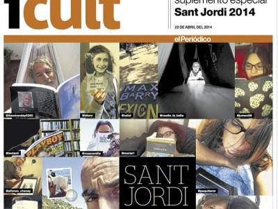 El Periódico | Mi novela #sébuena en portada, en manos de Víctor Amela, con @leotaxil al lado ;)) Sí, será un #SantJordi mágicoooo