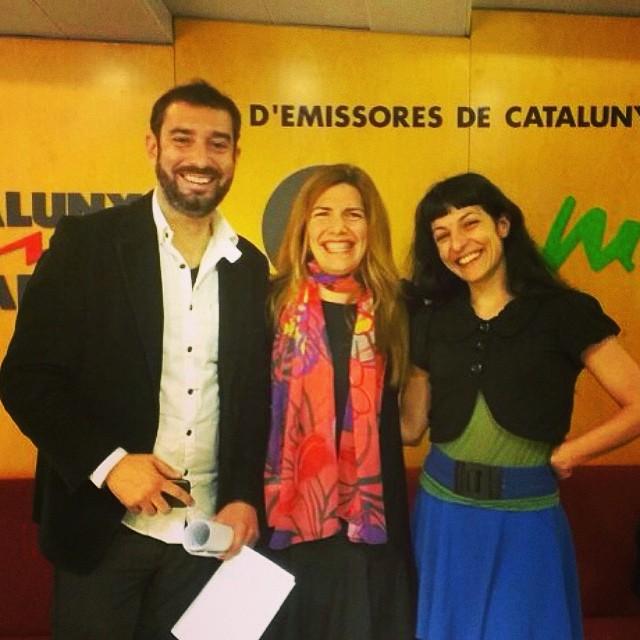 Avui a Catalunya Ràdio, 3 gamberrets: la sexòloga Carme Sánchez, el divulgador científic Pere Estupinyà i servidora ;))