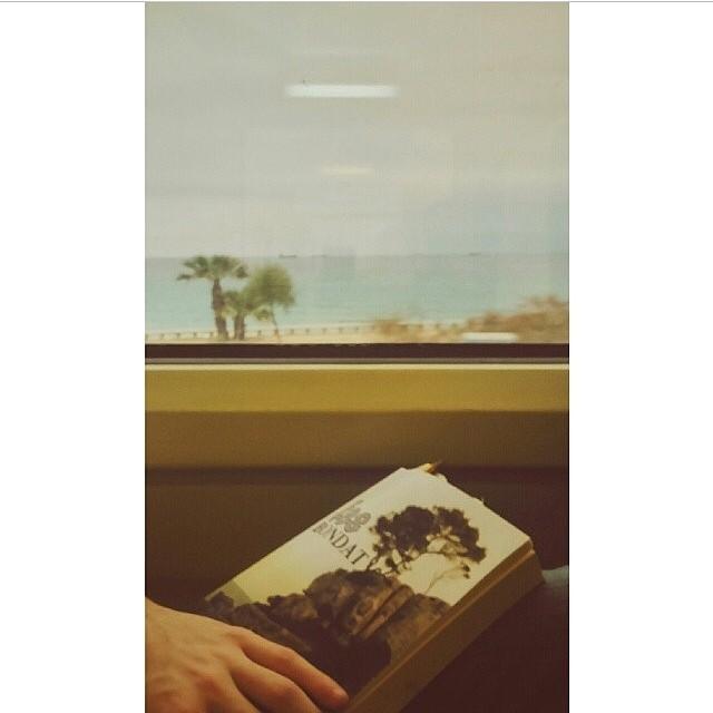 Un viatge en tren amb Oriol Salvat i #fesbondat és màgic, no ho dubteu!!!