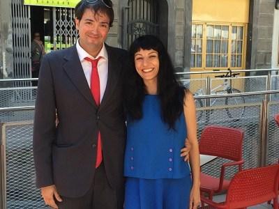 Ha sido un placer dedicar #sébuena y #megustaelsexo a David Suárez, gracias por viajar de Tarragona al #pepatomate a por lectura ;))
