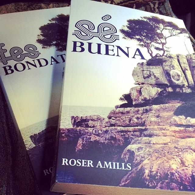 Esta tarde llevo #sébuena y #fesbondat a la librería +Bernat (c/ Buenos Aires 6) !!