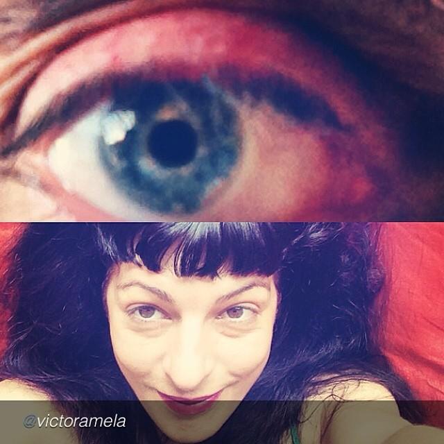 """by @victoramela """"Vedla conmigo en @vespreala2 @roseramills a las 19h"""" i love you!!!!!!"""