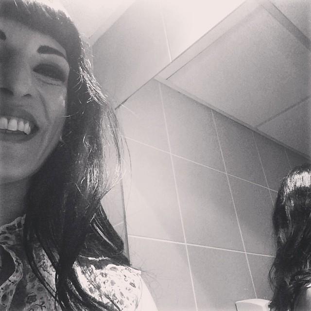 Este #amillspublicwc ha sido en un lavabo un poco estrechito ;))