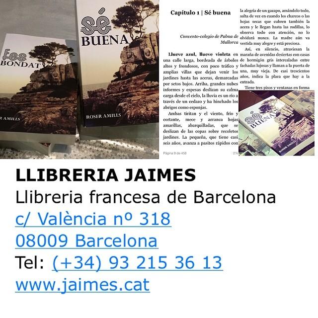 A la llibreria Jaimes tenen #sébuena #fesbondat per a tu i per a qui vulguis ;)) Posa màgia a la biblioteca quotidiana!!!