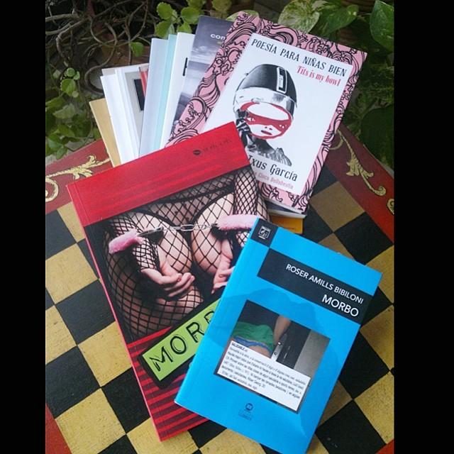 libros de poesia de roser amills y txus garcia